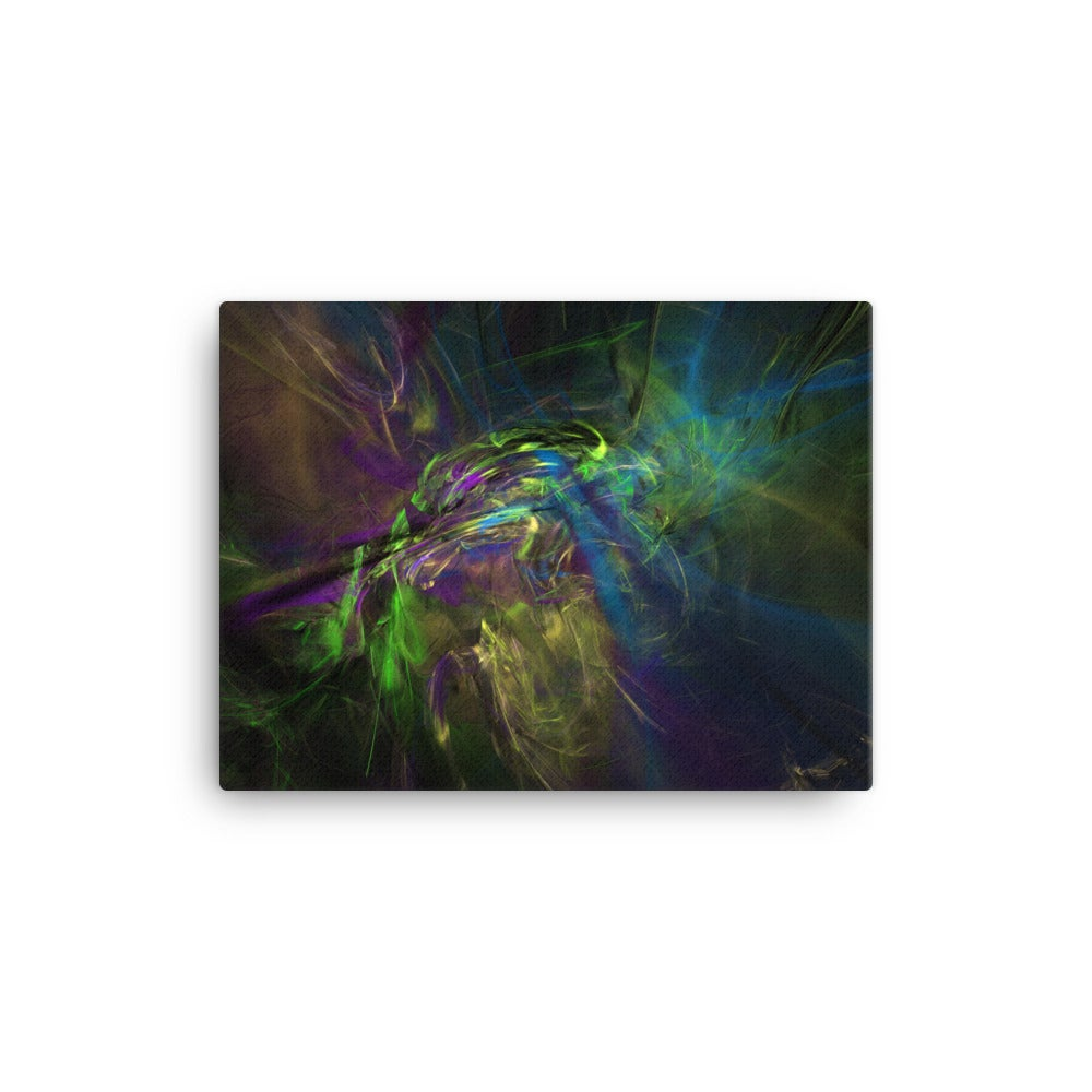 "Image of Fractal Art Canvas Print ""I Don't Know"""