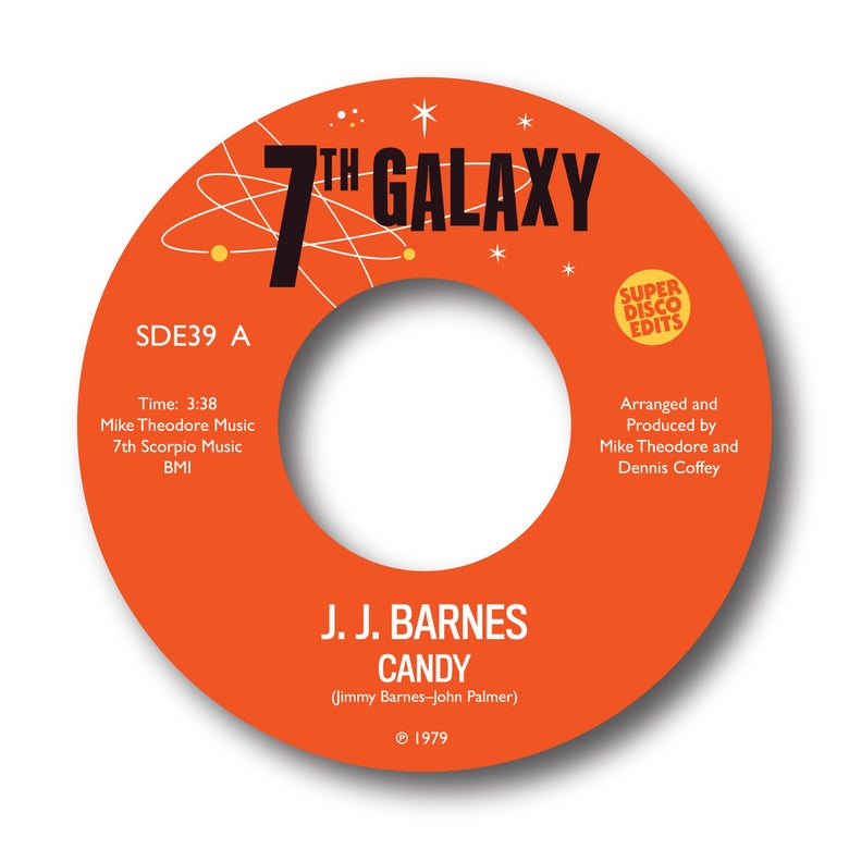 "Image of j j barnes ""candy""/""your precious love"" 7th Galaxy"