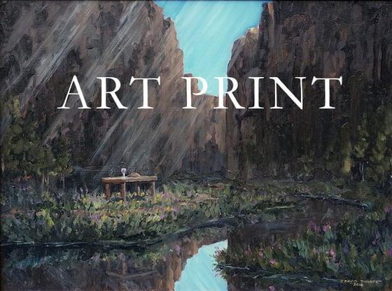 "Image of ""Psalm 23"" Art Print"