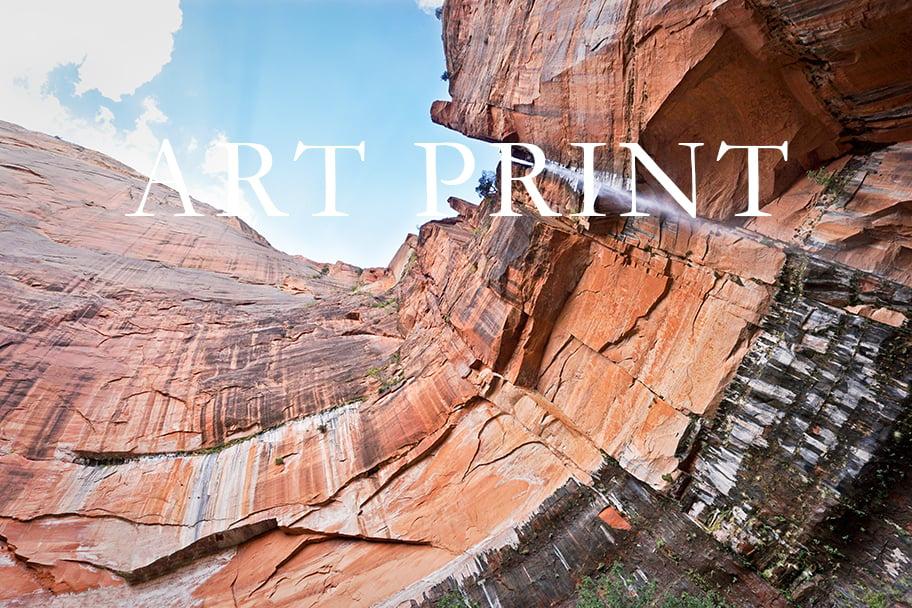 "Image of ""A Million Waterfalls"" Art Print"