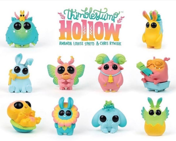Image of Thimblestump Hollow Series 2 Birthday Party edition blindbox