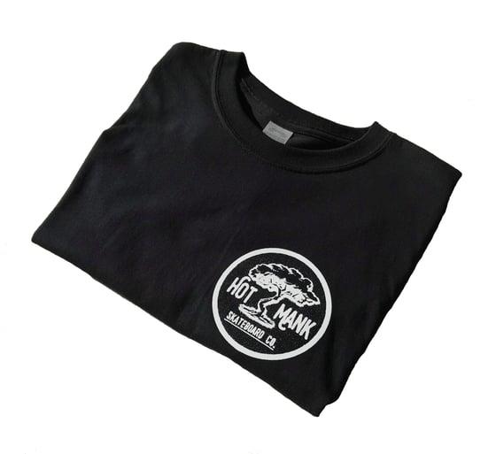 Image of Hot Mank Tree Logo T-shirt  - Black