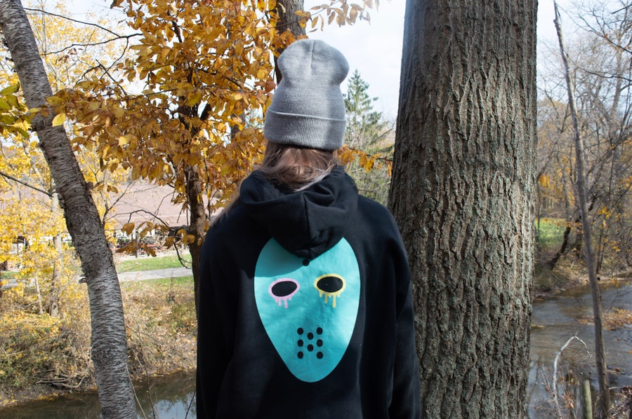 Image of FRED EICA MASK HOODIE