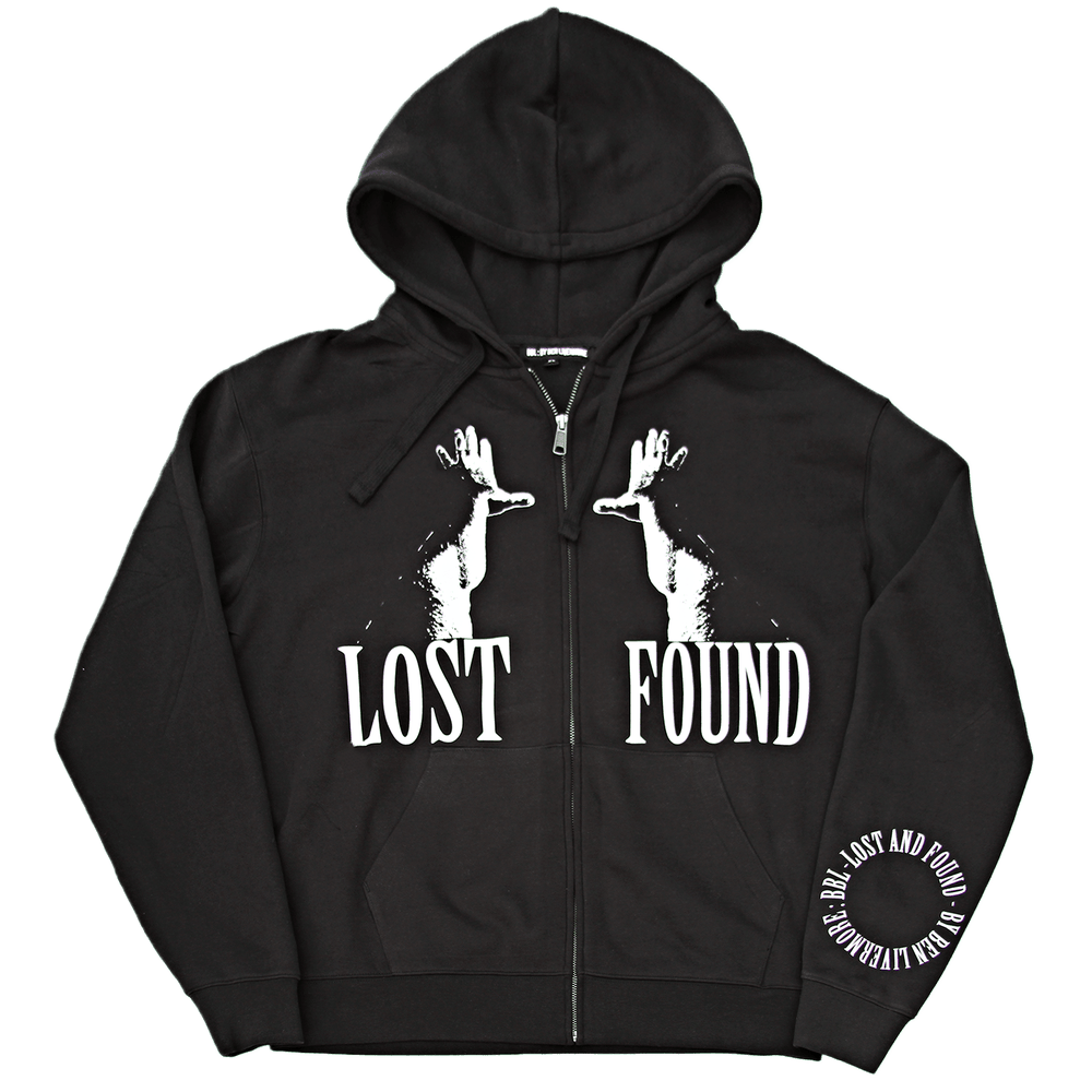 Image of Lost & Found Zip Up Hoodie