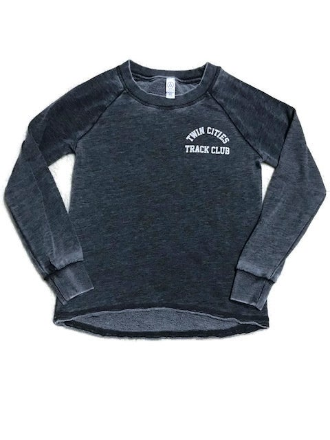 "Image of Women's ""Vintage"" Crew Sweatshirt w/ Small TCTC Logo"