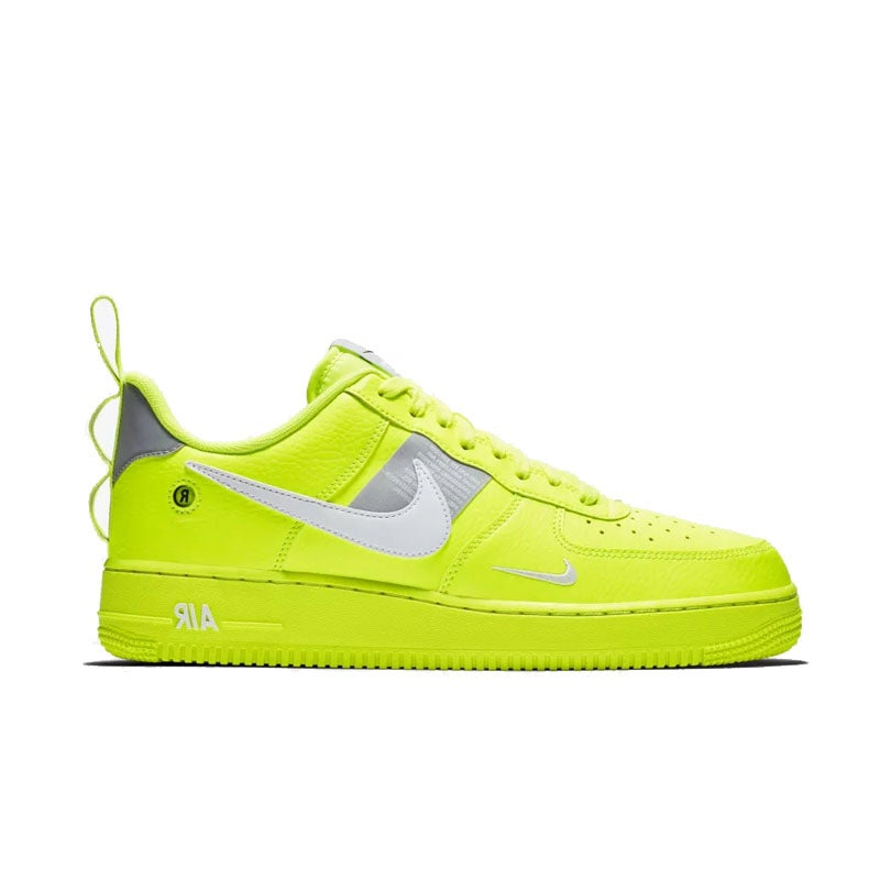 Image of Nike Air Force 1 Utility Neon Green (Grade School / Juniors)