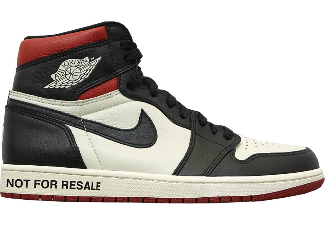 "Image of Jordan 1 ""Not For Resalé"""