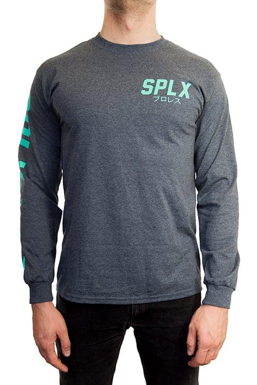 Image of SPLX Mint Green Long Sleeve T-Shirt
