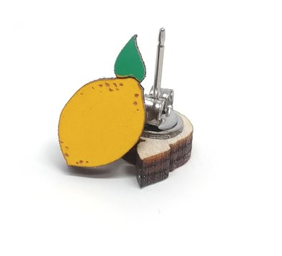 Image of Lemon Earrings