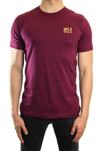 Image of SPLX Gold/Maroon T-Shirt