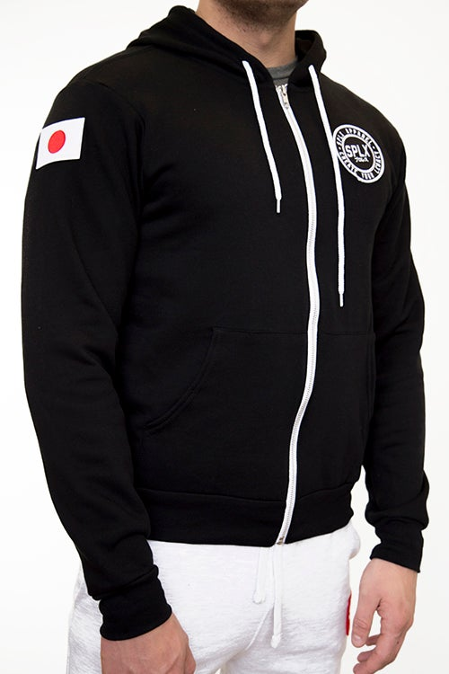 Image of SPLX Zip-Up JPN Hoodie