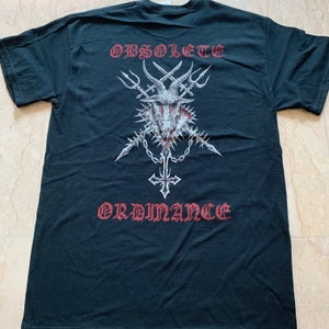 "Image of INFERNAL EXECRATOR ""Obsolete Ordinance"" Black T-Shirt"