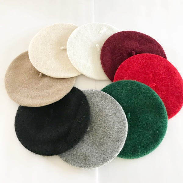 Image of Holiday berets