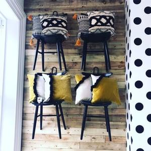 Image of Boho style cushion
