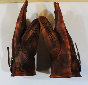 Image of Born Savage custom Concho gloves