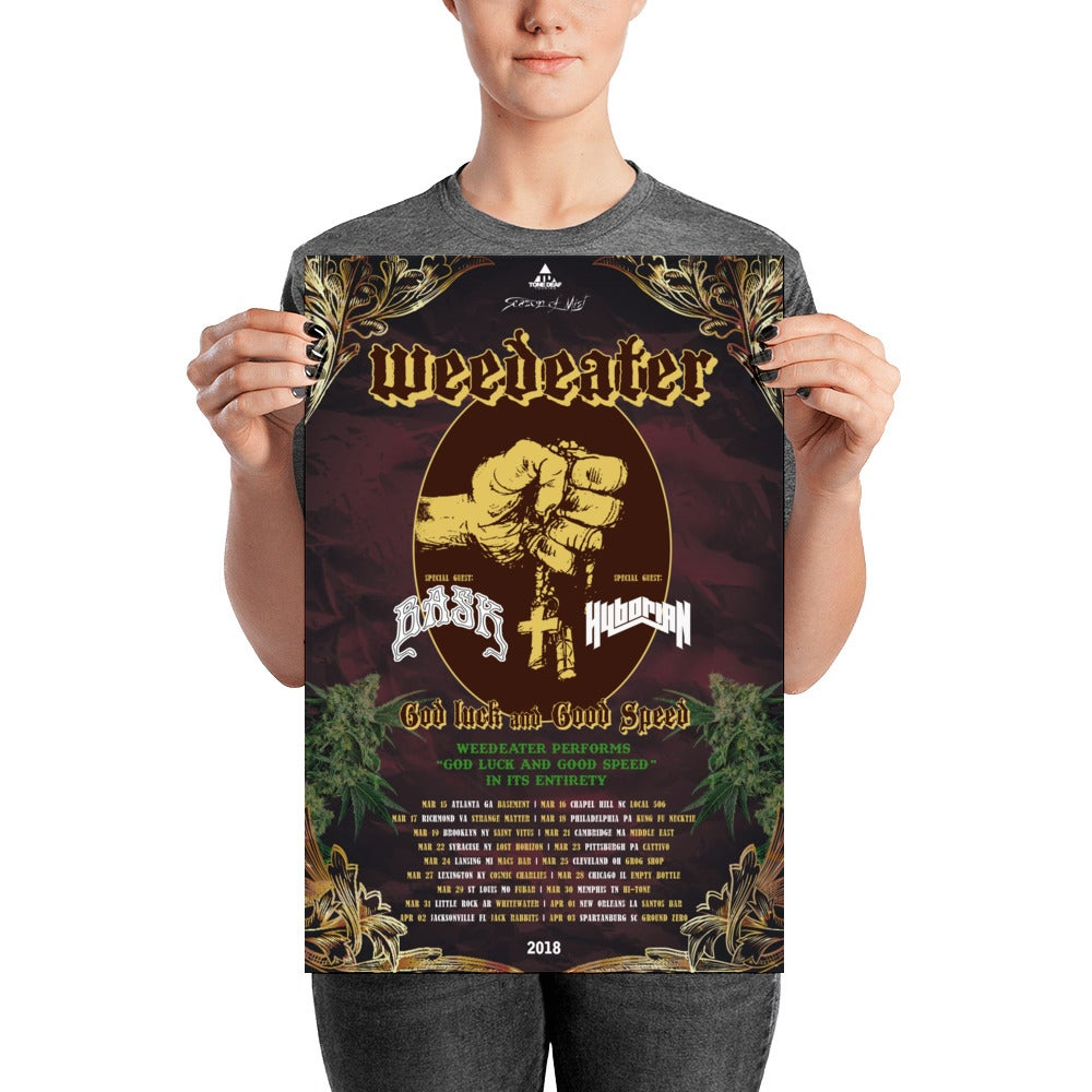 Image of Weedeater/Bask Poster
