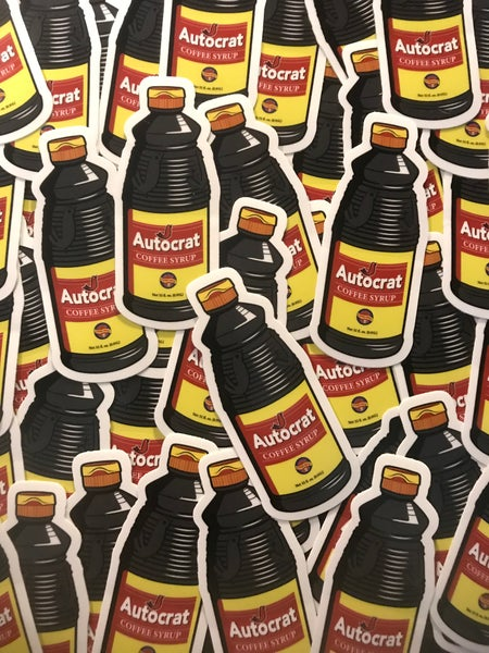 Image of Autocrat Coffee Syrup Sticker