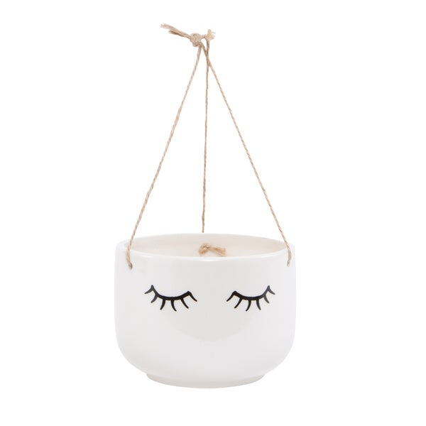 Image of Eyes shut hanging planter