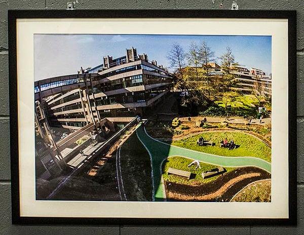 Image of Dale Starkie - kickflip - A1 C-type Satin Matte Print - Black Matte Frame