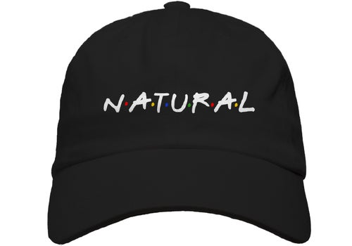 """Image of """"Natural"""" Puff Dad Hat"""