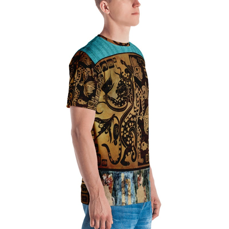 Image of MAYAN JAGUAR T-SHIRT