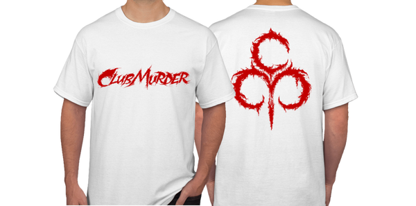 Image of ClubMurder White Male T-Shirt