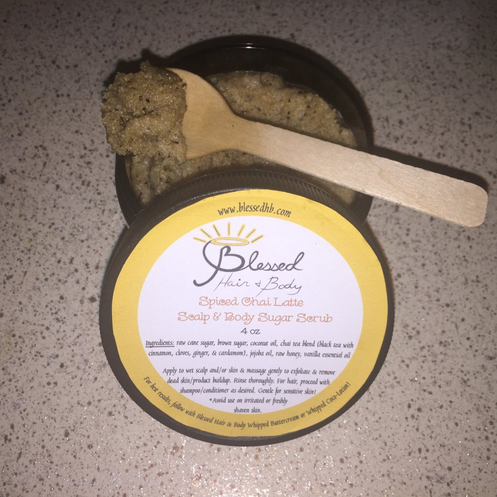 Image of Chai Latte Sugar Scrub (4 oz.)