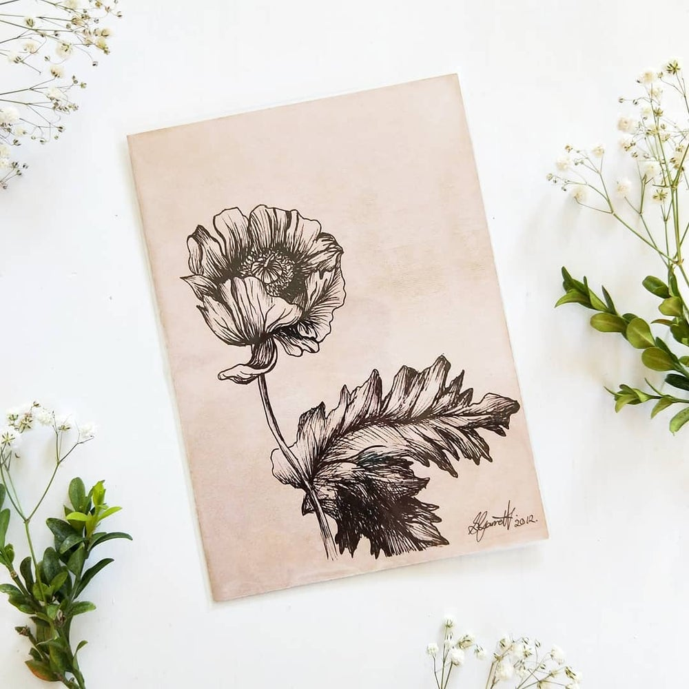 Image of Foliage Ink Drawings - Art Prints