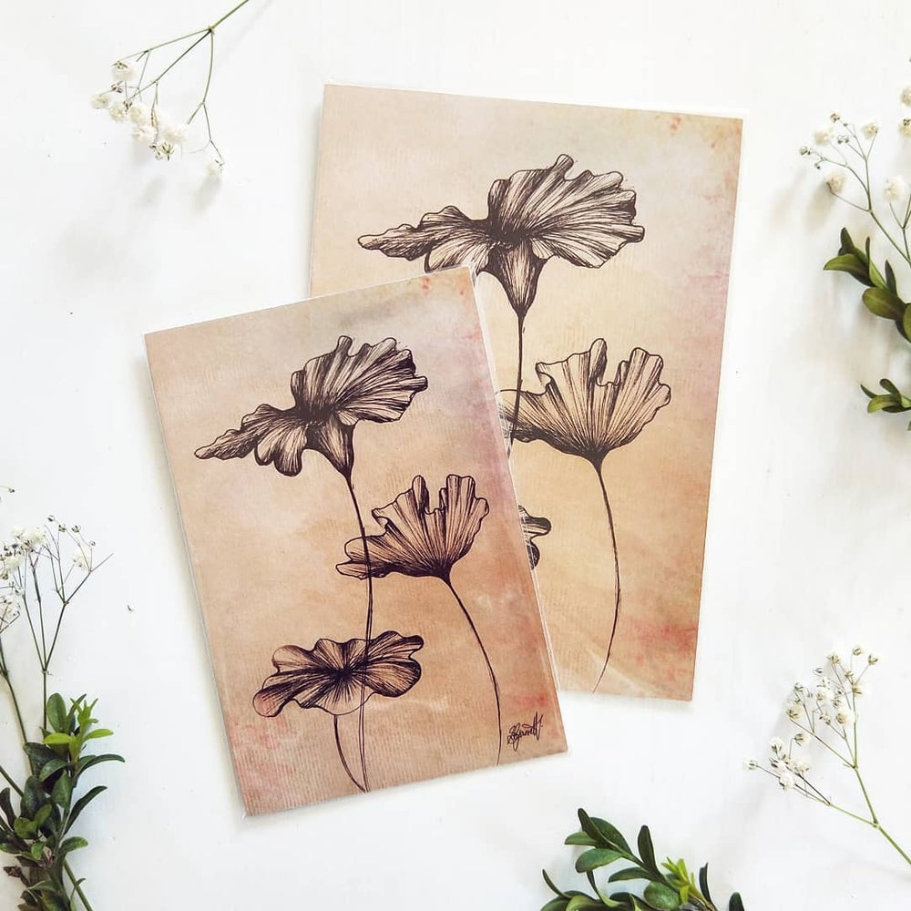Image of Foliage Ink Drawings - Art Print