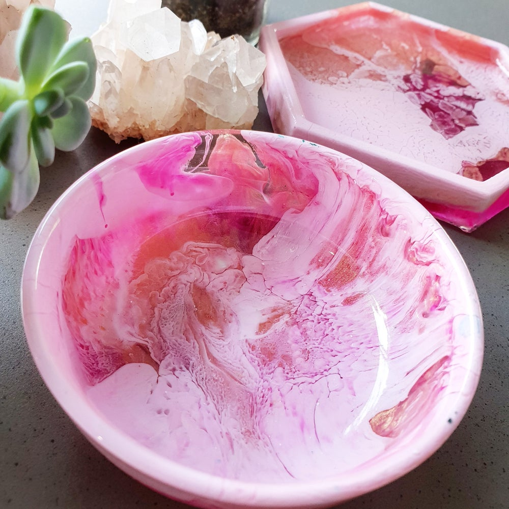 Image of Pre-Order - Candy Floss Trinket Bowl & Tray Set