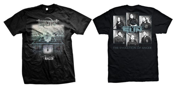 Image of EOA Album T-shirt (with back) LIMITED!