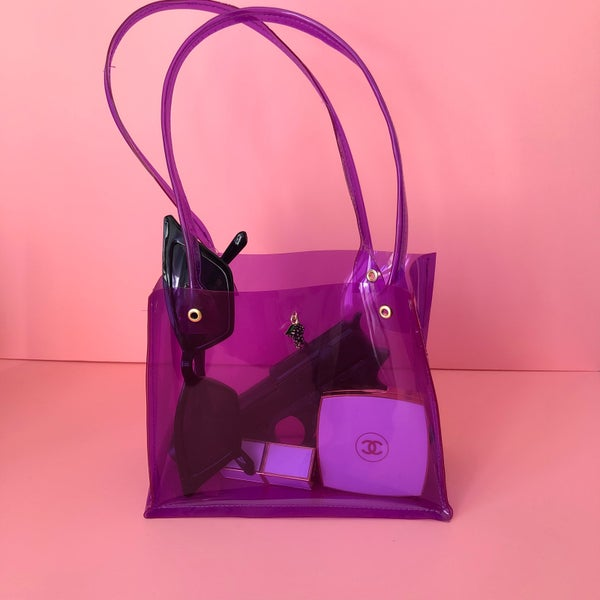 Image of mini pvc bag 🍇 grapes 🍇