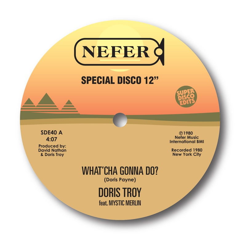 "Image of Doris Troy Feat Mystic Merlin ""What'cha gonna do""/""You got me baby"" Nefer"
