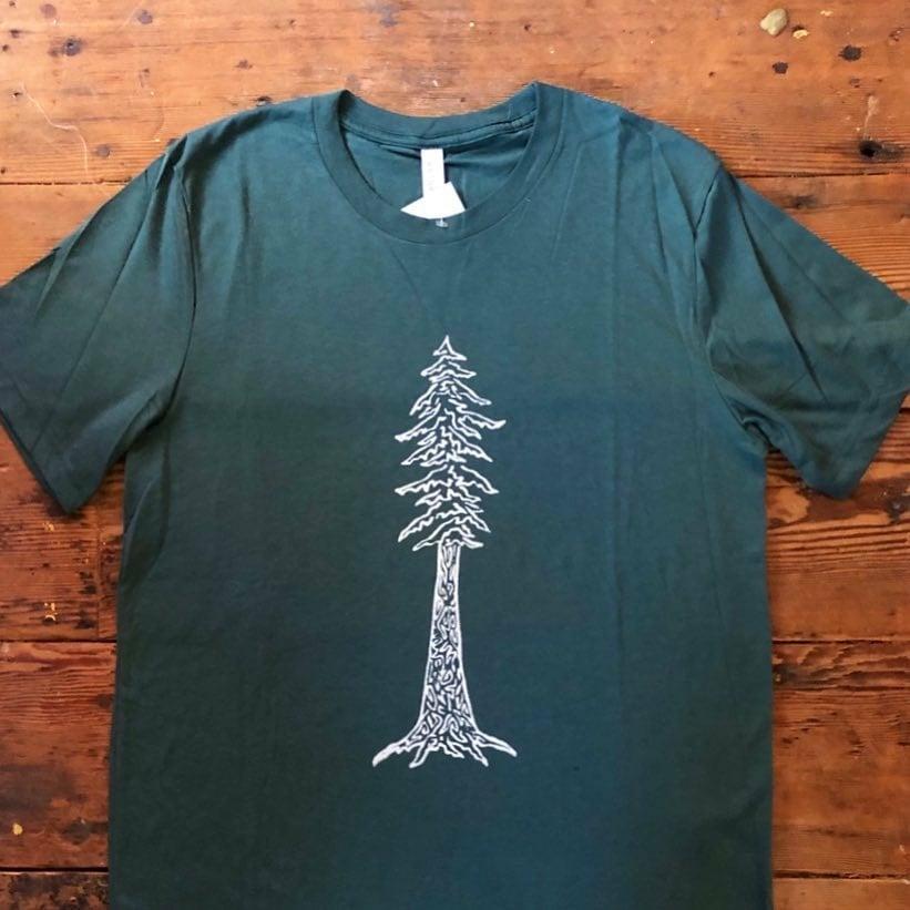 Image of Redwood - men's triblend tee