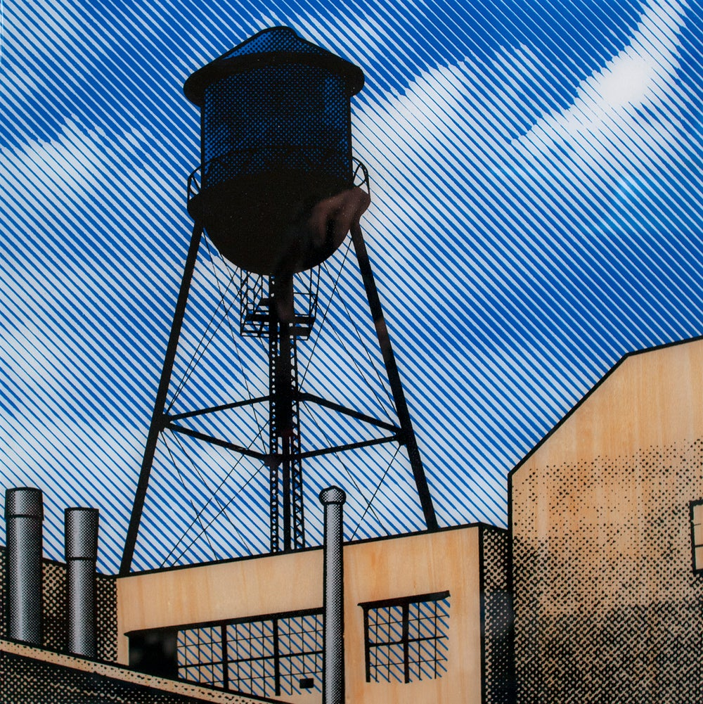 Image of Brooklyn water tower