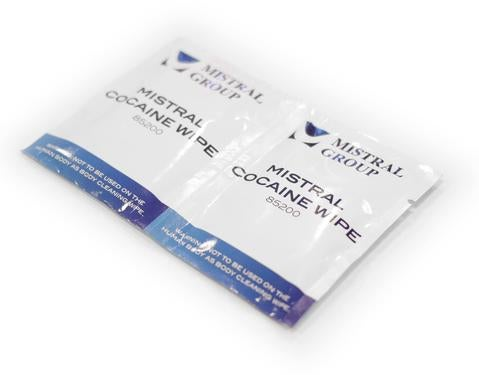 Image of Cocaine Drug Test Wipes 2 pack