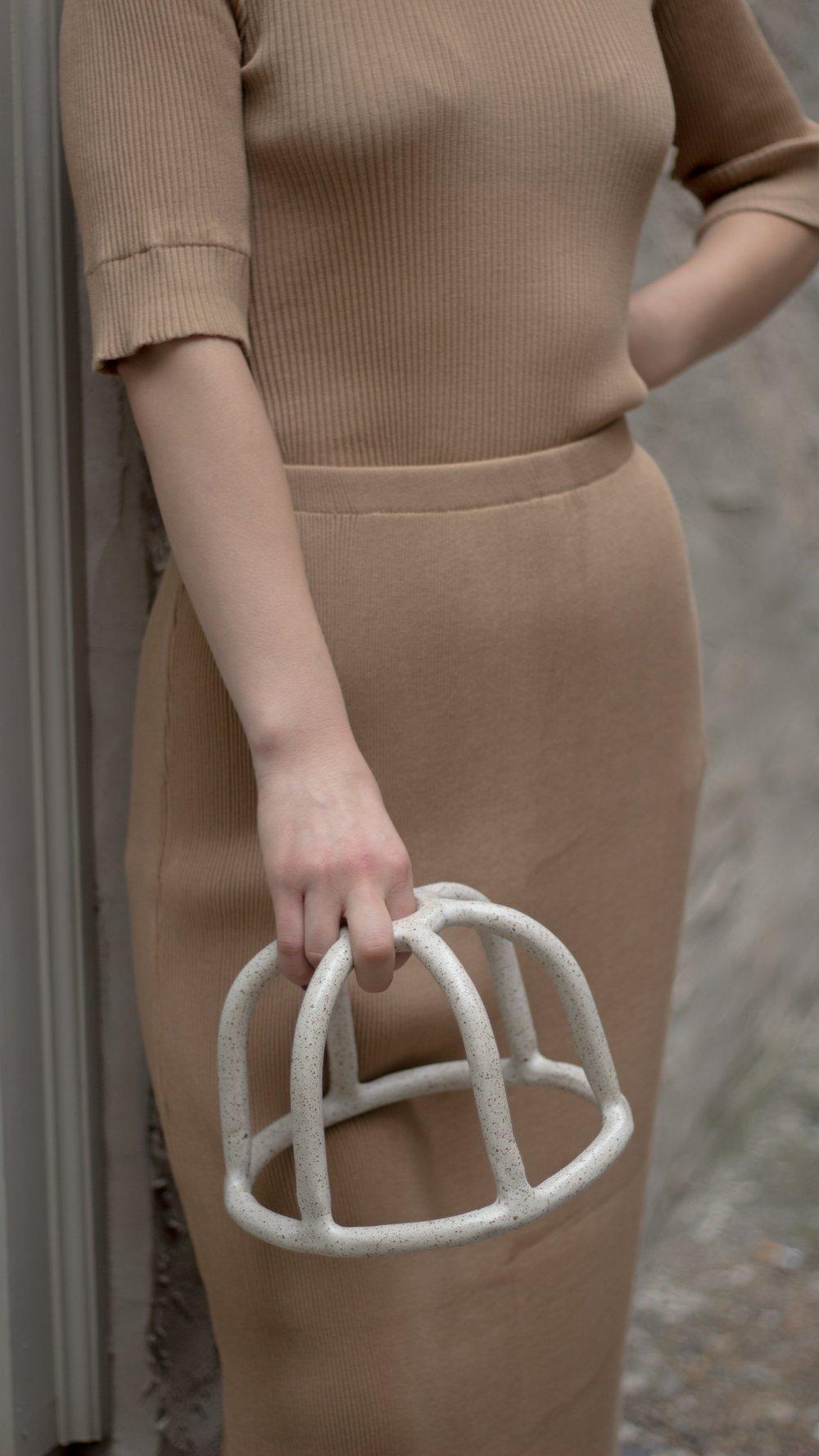 Image of Lauren Manoogian Accordian Skirt
