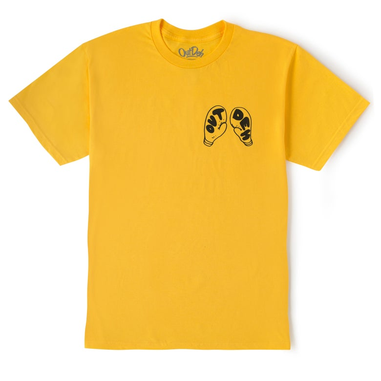 Image of Out Deh Boxing Edition T-Shirt (Yellow)