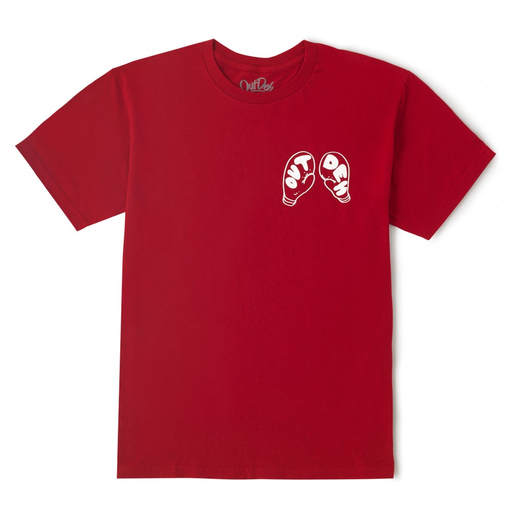 Image of Out Deh Boxing Edition T-Shirt (Red)