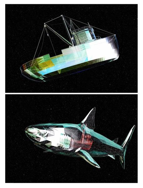 Image of The War Inside - Shark Boat