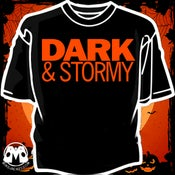 Image of Dark & Stormy Limited Edition Halloween 2018 shirt!