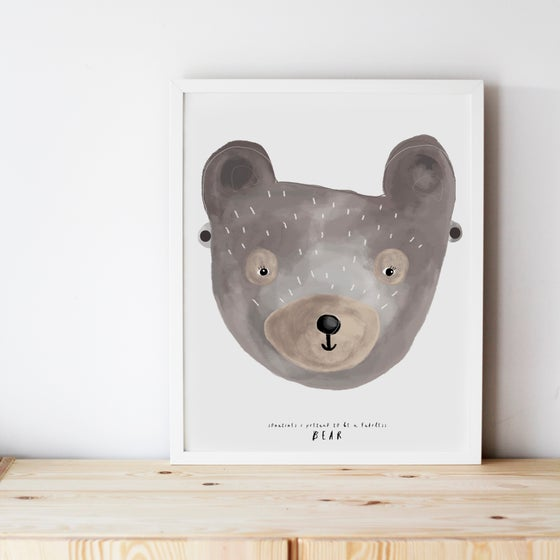 Image of FEARLESS BEAR ILLUSTRATION