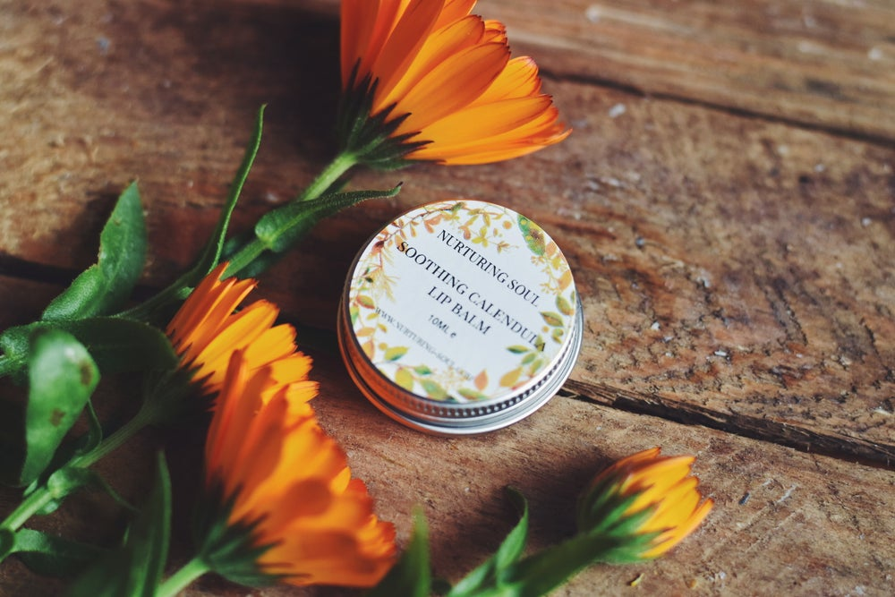 Image of Soothing calendula & Sweet Orange  Lip Balm