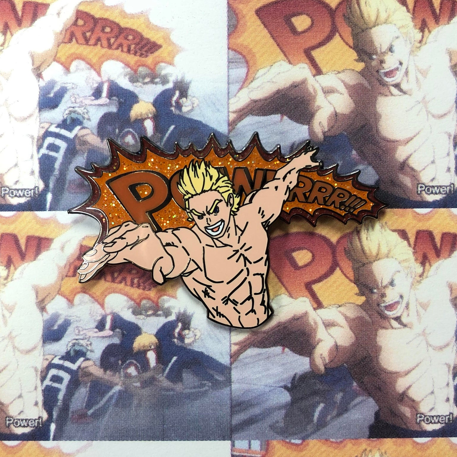 "Image of Mirio ""POWERRR!!!"""