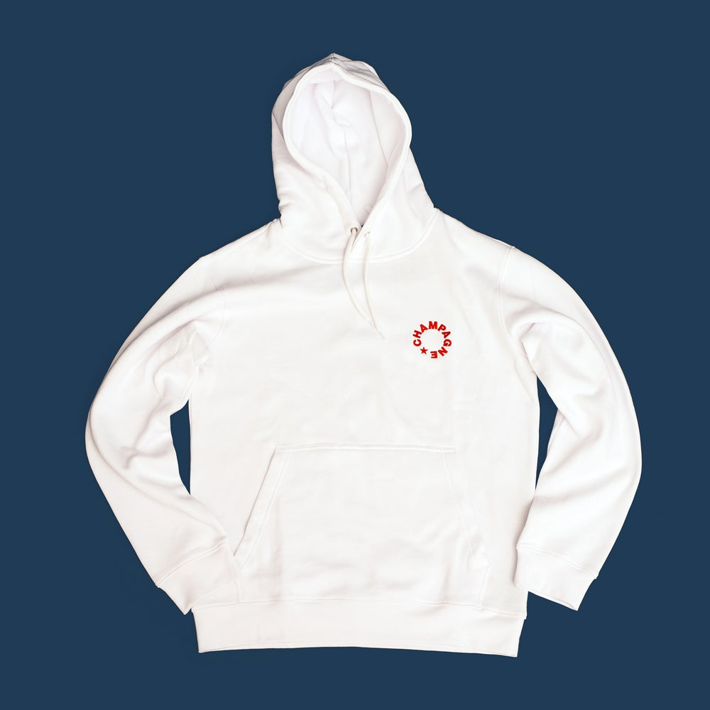 Image of CHAMPAGNE SWEAT SUIT — TOP