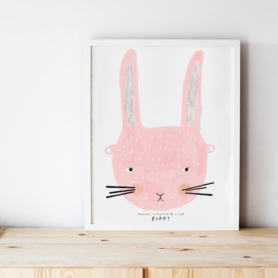 Image of CUTE BUNNY ILLUSTRATION