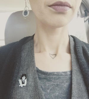 Image of Smokin' Haute Siouxsie Pin (now available)