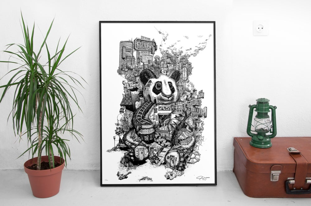 """Image of """"This city is growing on me"""" Large poster *Pre-Order*"""