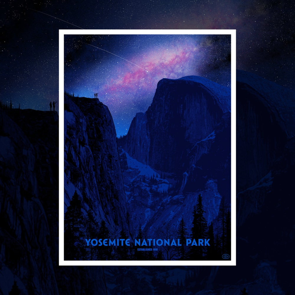 Image of 2 COPIES LEFT - Yosemite National Park Poster