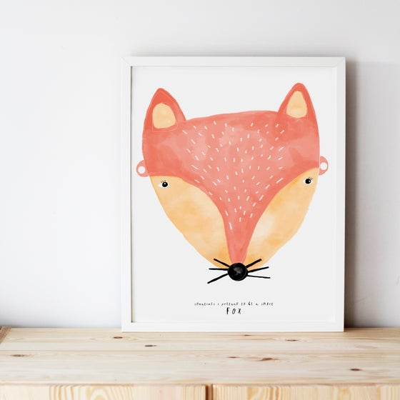 Image of SMART FOX ILLUSTRATION